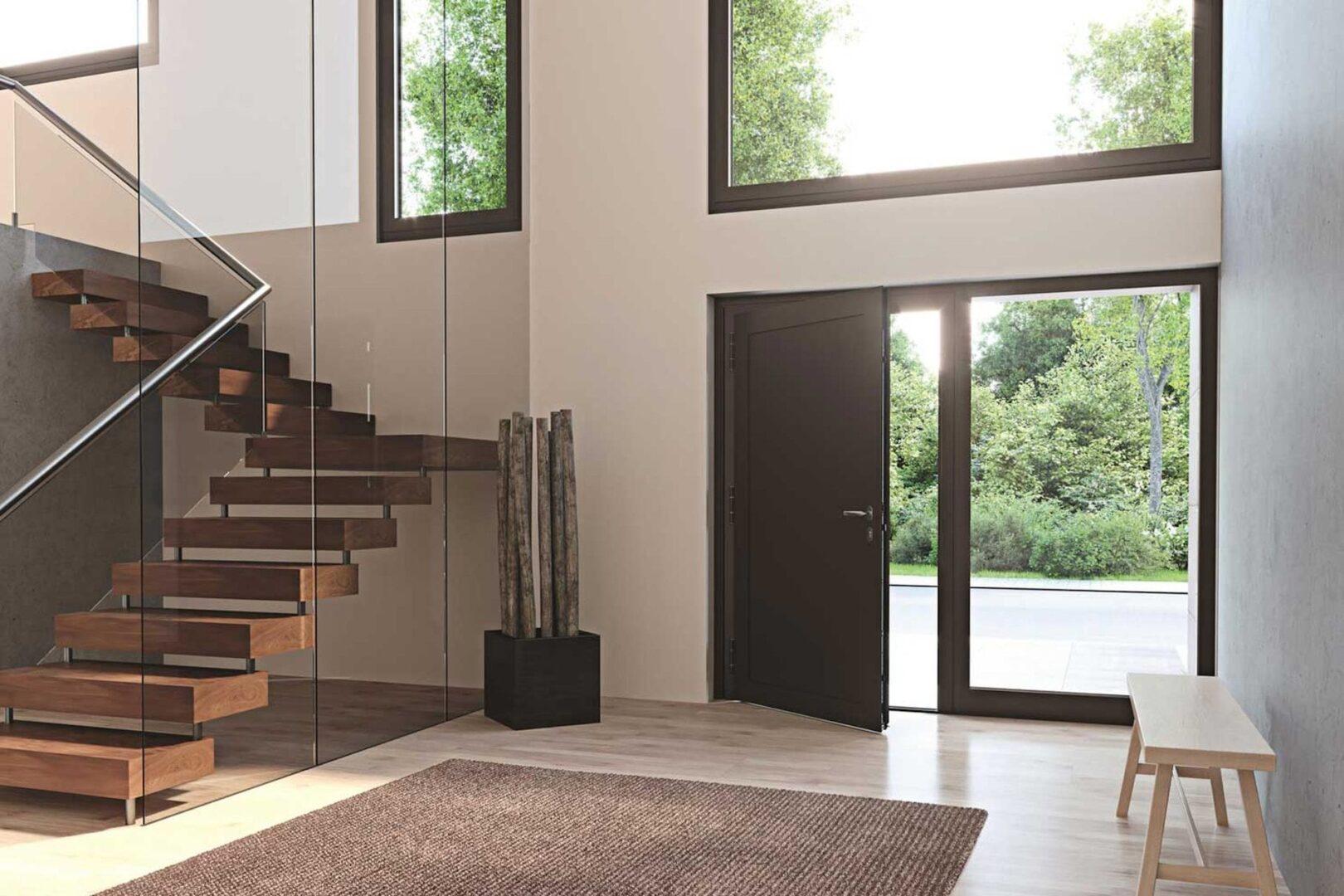 GIWE Haustüren - Le Corbusier Innen